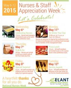 Nurses & Staff Appreciation Week