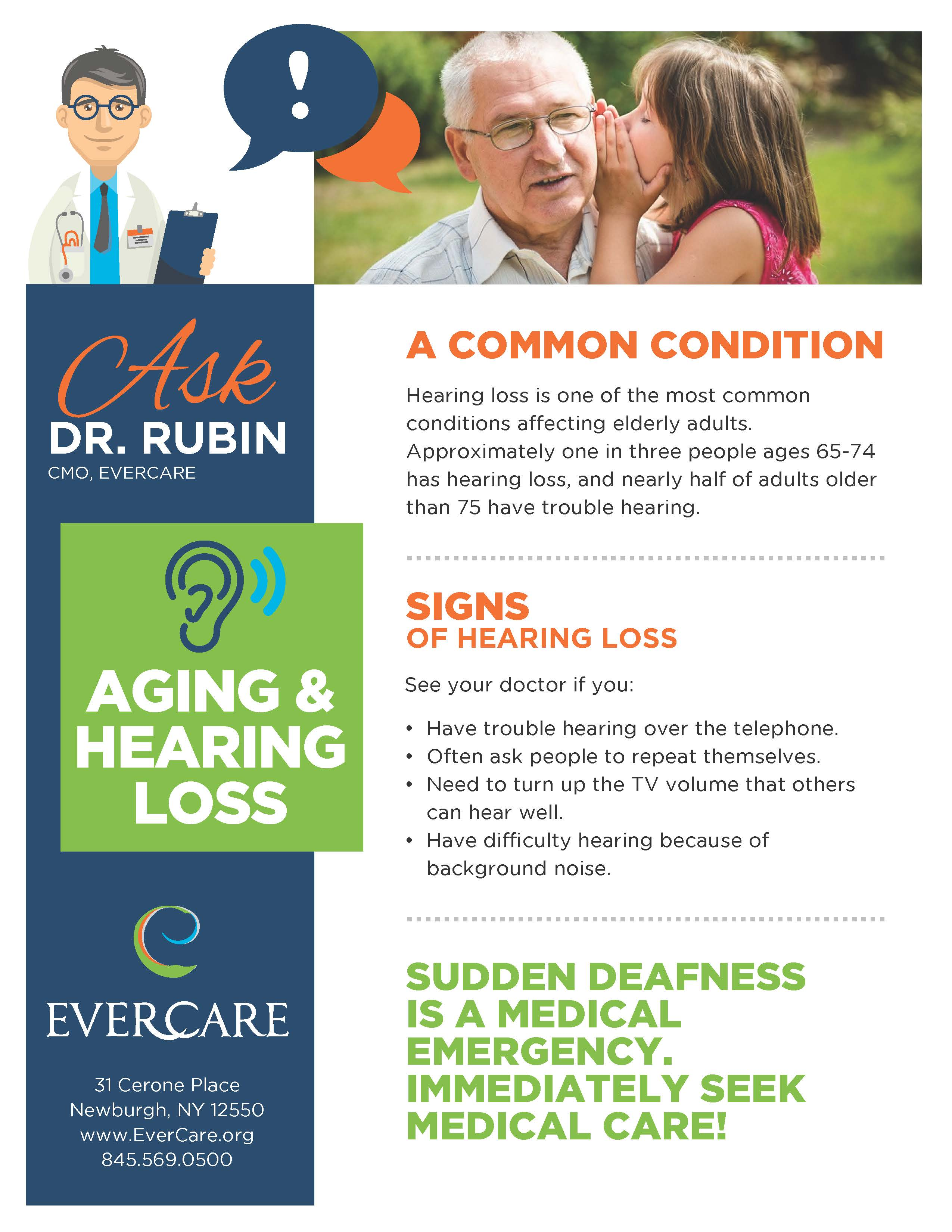 Aging & Hearing Loss