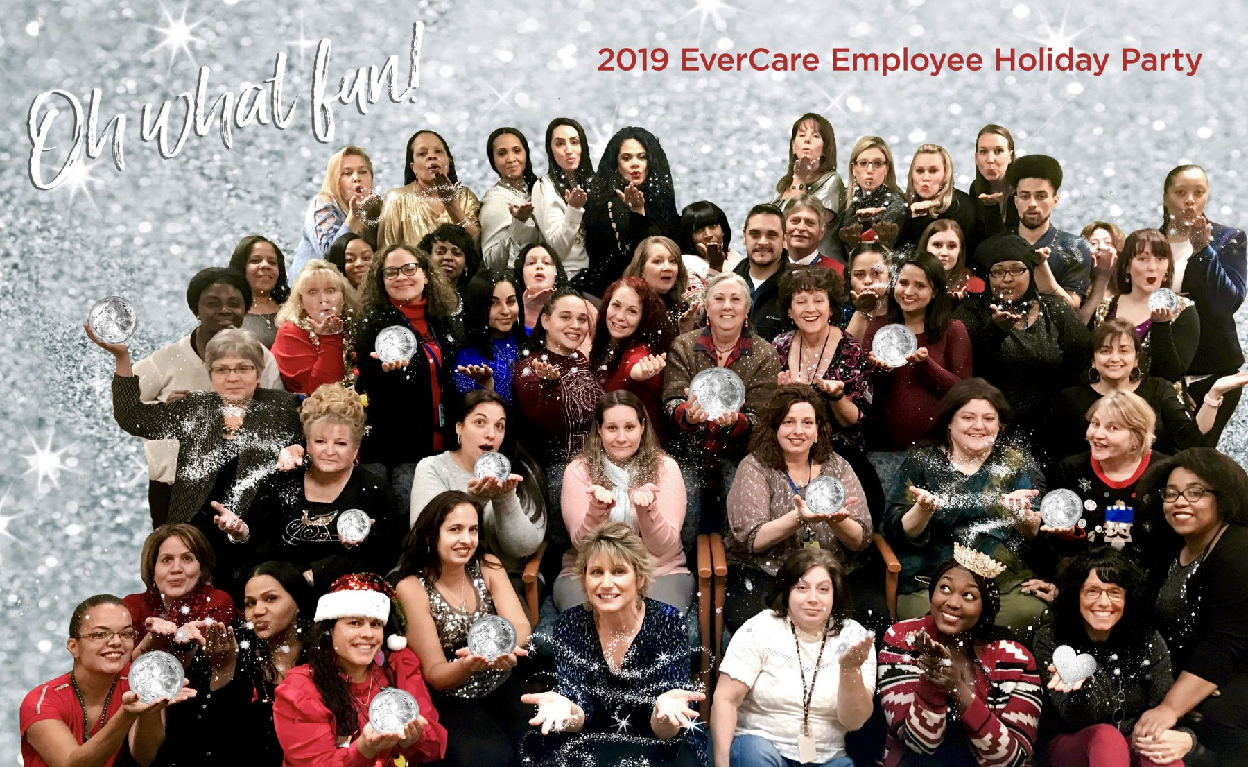 Oh What Fun! Employee Annual Holiday Photo