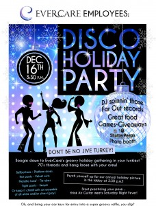 EverCare Holiday Disco Party