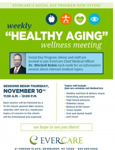 Healthy Aging Wellness Meeting